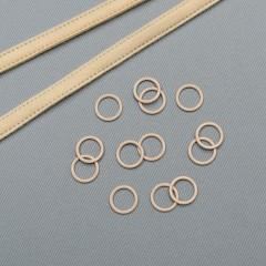Кольцо металлическое для бюстгальтера, 11 мм, обжаренный миндаль (ARTA-F) (009498)