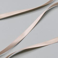 Лента атласная серебристый пион, 6 мм ARTA-F (010341)