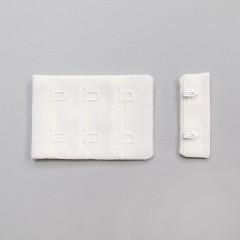 Застежка крючки и петли, 38 мм, 3 ряда, молочный (ARTA-F) (011096)