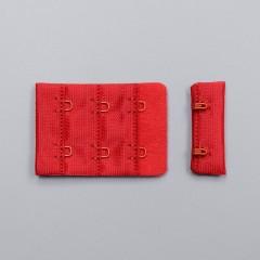 Застежка крючки и петли, 38 мм, 3 ряда, красный (ARTA-F) (011099)