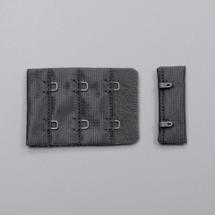 Застежка крючки и петли, 38 мм, 3 ряда, темная тень (ARTA-F) (011102)