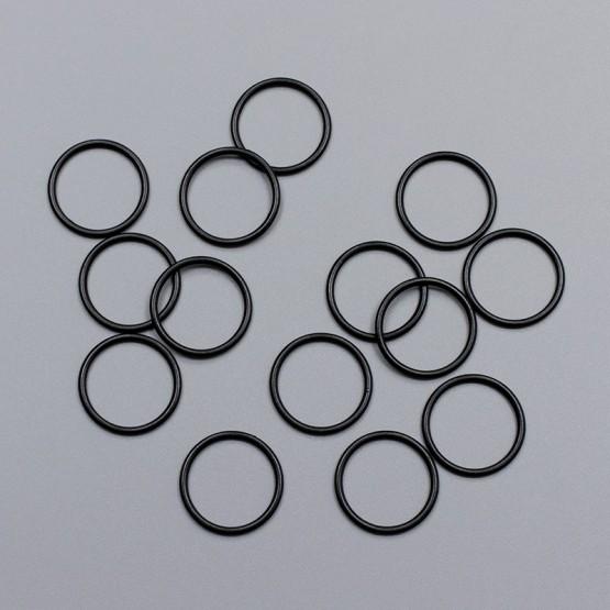 Кольцо металлическое, 18 мм, черный, ARTA-F (011873)