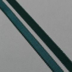 Резинка бретелечная 14 мм, т. изумруд, диз. 642/14 (008016)