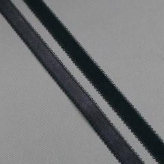 Резинка бретелечная 14 мм, графит, диз. 642/14 (008017)