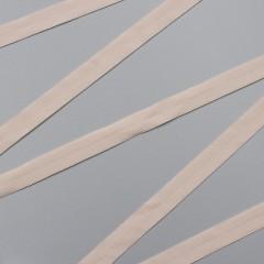Резинка окантовочная 15 мм, серебристый пион, диз. 626/15 (009910)