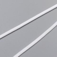 Резинка для бретелей лапша 4 мм, белый, 2510, M.Letizia (011421)