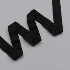 Резинка окантовочная 15 мм, черный, 2000, M.Letizia (011406)