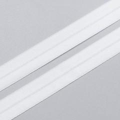 Резинка окантовочная 15 мм, белый, 2000, M.Letizia (011410)