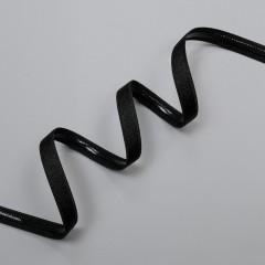 Резинка для бретелей с силиконом 10 мм, черный, 2274, M.Letizia (011412)