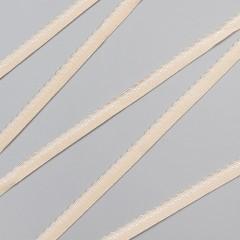 Резинка декоративная 9 мм, бежевый, 2735, M.Letizia (011428)