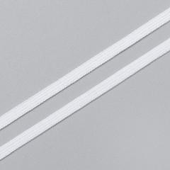 Резинка бельевая 4 мм, белый, 8129, M.Letizia (011432)