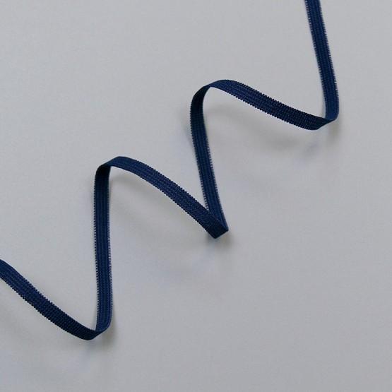 Резинка бельевая 4 мм, темно-синий, 8129, M.Letizia (011433)