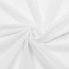 Сетка эластичная, белый (009555)