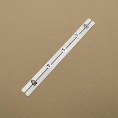 Бюск стальной 30 см, 5 шипов, белый (Wissner) (002964)