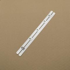 Бюск стальной 28 см, 5 шипов, белый (Wissner) (003798)