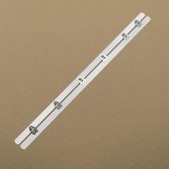 Бюск стальной 38 см, 6 шипов, белый (Wissner) (007308)