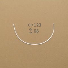 Косточки для бюстгальтера, FLEXY, 210 мм, пара, 75A (007319)