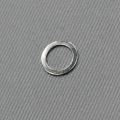 Кольцо металлическое для бюстгальтера, никель, 10 мм (6 C/10) (007818)