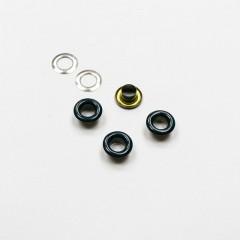 Люверсы металлические, 5мм (темно синий), 40 шт. (008677)