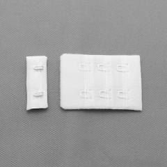 Застежка крючки и петли, 38х54 мм, 3 ряда, белый (008708)
